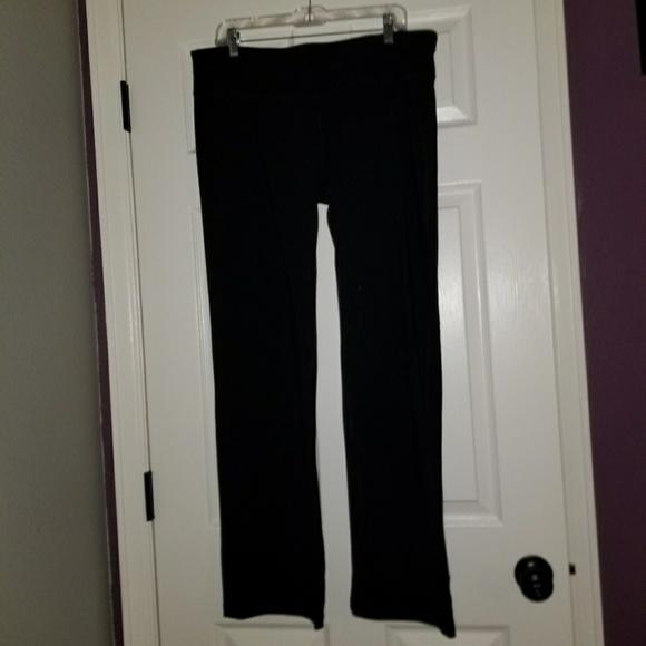 c74e3d0e915a8 Tek Gear Shapewear Bootcut Black Pants 1x